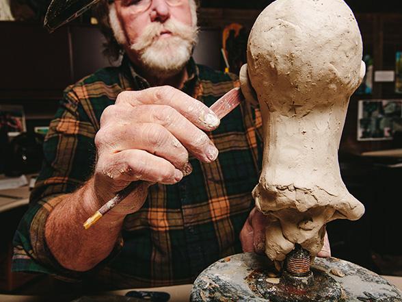 Scott sculpting